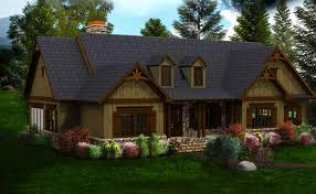 Cool Design Rustic House Plans Single Story 3 Homes Craftsman Home Style On Modern Decor