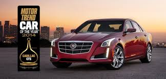 Cadillac CTS Scores Second Motor Trend Car Of The Year® Award