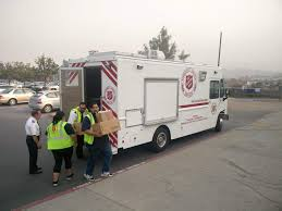 100 Salvation Army Truck Southern California Responds To Evacuations In