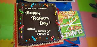 Oct 25 2018 WORLD TEACHERS DAY