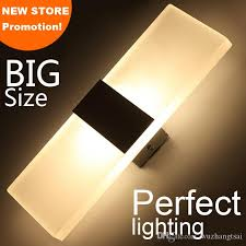 discount led wall light living sitting room foyer bedroom bathroom