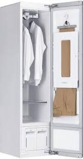 dfschrank styler weiß schrank bügelpresse kleiderbügel