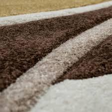 möbel wohnen modern teppich braun kurzflor animal 80x150