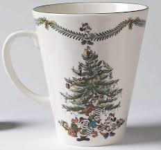 Spode Christmas Tree Mugs by The Enchanted Castle Offering Licensed Disney Producs And