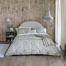 wandle bettbezug grau einzelbett