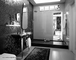 bathroom vintage black and white bathroom tile black and white