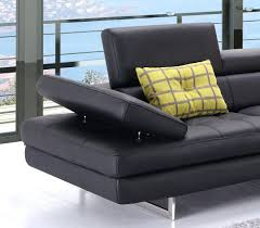 Havertys Leather Sectional Sofa by Black Modern Sectional U2013 Vupt Me