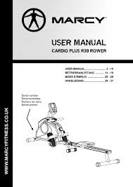 Marcy Eclipse Roman Chair by 14mar30000 Marcy Cardio Rower R30 User Manual 1 Pdf Jpg