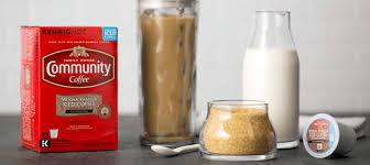 Summer Loving Community Coffee Mocha Vanilla Iced K Cups