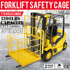 Forklift Safety Cage Work Platform Lift Basket Aerial Fence Rails ... Forklift Safety Safetysolutionplt Safety Tips For Drivers And Pedestrians Sfm Mutual Insurance Avoiding Damage To Forks Tips Checklist Caddy Refill Pack Liftow Toyota Dealer Lift Whiteowl Tronics Sandia Rodeo Hlights Curacy August 6 2007 124v48v60v72v Blue Red Spot Work Working Light Fork Truck Encode Clipart To Base64 Creative Supply Diesel Motor Order Picking For Factory Workshops