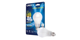 green deals cree 40w a19 dimmable led light bulb 1 50 more