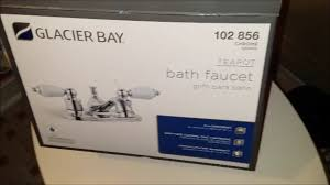 Glacier Bay Faucet Removal by Remove And Install Bathroom Faucet And Vanity Supply Lines Youtube