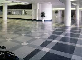 Terrazzo Flooring With Pattern For Classic Dining Room