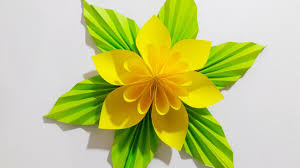 Papercraft Ideas Origami Easy Paper Flower L Very To Make