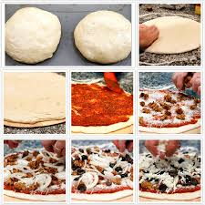 Steps To Making Pizza