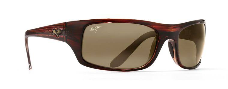 Maui Jim Peahi Polarized Sunglasses - Burgundy, Tortoise