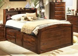 fresh unique captains bed queen oak 20821