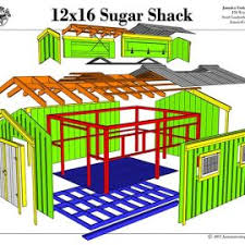 12x16 Wood Storage Shed Plans by Storage Sheds Plans Wood Storage Shed Plans Free Shed Plans