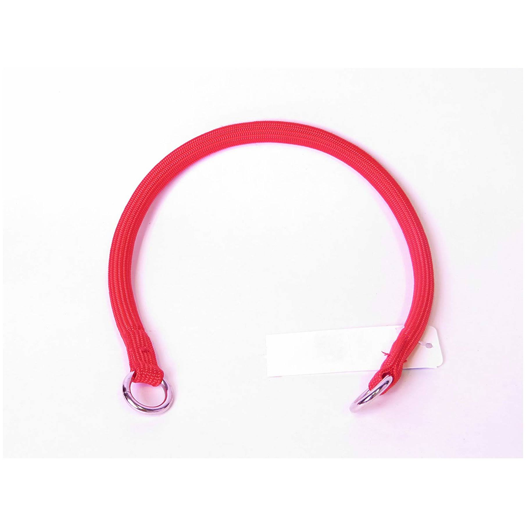 "Coastal Pet Products Round Nylon Choke Dog Collar - Red, 3/8"" x 20"""