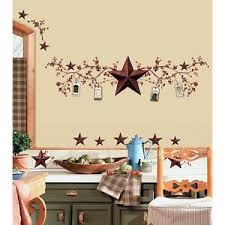 Image Is Loading STARS And BERRIES WALL DECALS Country Kitchen Stickers