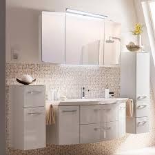 badezimmer spiegelschrank 100cm cervia 66 in weiß mit led beleuchtung b h t 100 67 17 cm