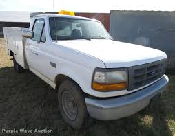 100 Ford F350 Utility Truck 1997 Utility Truck Item DF9079 SOLD December