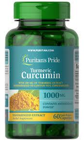 Turmeric Curcumin With Bioperine 60 Capsules   Puritan's Pride