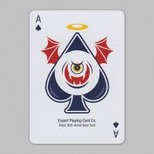 Evil Deck Playing Cards Aceofspades Cartas As De