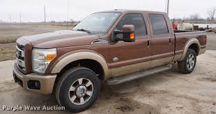 2011 Ford F250 Super Duty King Ranch Crew Cab Pickup Truck |...