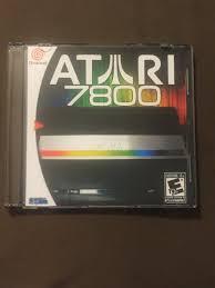 Halloween Atari 2600 Reproduction by Atari 7800 Emulator Custom Sega Dreamcast Game