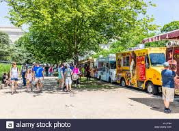 Washington DC, USA - July 3, 2017: Food Trucks On Street By National ... Lunch In Farragut Square Emily Carter Mitchell Nature Wildlife Food Trucks And Museums Dc Style Youtube National Museum Of African American History Culture Food Popville Judging Greek Papa Adam Truck Is Trying To Regulate Trucks Flickr The District Eats Today Dcs Truck Scene Wandering Sheppard Washington Usa People On The Mall Small Business Ideas For Municipal Policy As Upstart Industry Matures Where Mobile Heaven Washington September Bada Bing Whats A Spdie Badabingdc