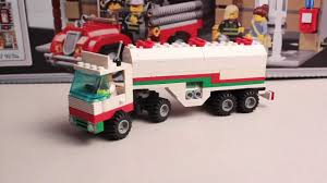 100 Lego Tanker Truck LEGO Set ReviewTown Octan Gas Transit 6594 From 1992 YouTube