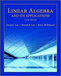 Linear Algebra And Its Applications 5th Edition