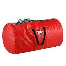 Plastic Wrap Your Christmas Tree by Amazon Com Elf Stor Premium Red Holiday Christmas Tree Storage
