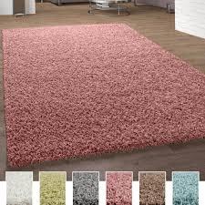 shaggy teppich hochflor langflor teppiche hochwertig pastell uni versch farben grösse 140x200 cm farbe pink