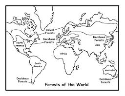 Kids Printable World Map Coloring Pages Free Online P2s2s