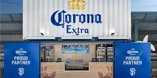 100 Shipping Containers San Francisco Brandchannel Corona Helps Giants Fans Find Their Beach