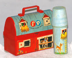 Fisher Price Toy Barn Lunch Box With Silo Thermos, 1962 ... Amazoncom Fisherprice Little People Fun Sounds Farm Vintage Fisher Price Play Family Red Barn W Doyourember Youtube Animal Donkey Cart Wspning Animals Mercari Buy Sell Things Toys Wallpapers Background Preschool Pretend Hobbies S Playset Farmer Hay Stackin Stable Walmartcom