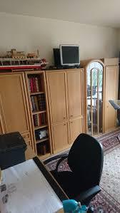 wohnzimmer schrankwand hell buche zu verkaufe