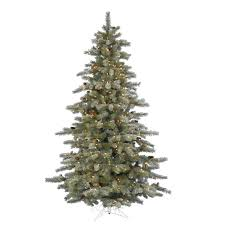 Slim Pre Lit Artificial Christmas Trees by Lighted Artificial Christmas Trees 8 10 Ft Christmas Trees