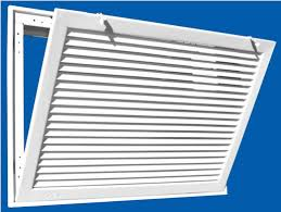 Decorative Return Air Grille 20 X 20 by Hvacquick Truaire 290 Series Fixed Bar Return Air Filter Grilles