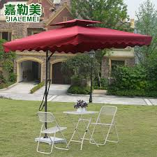 Get Quotations Jiale Us Outdoor Furniture Balcony Garden Patio Umbrella Rome Umbrellas Large Folding Type Sun