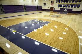 Hardwood Sports Athletic Floors Basketball Courts Ohio