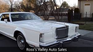 100 Continental Truck Sales 1977 Lincoln Mark V Rosss Valley Auto Boise
