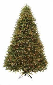 10 Ft Artificial Brookline Fir Christmas Tree Pre Lit With 2200 Clear Lights