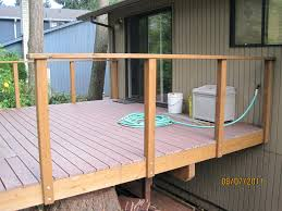 Lowes Canada Deck Tiles by Articles With Deck Railing Systems Wood Label Exciting Deck Rail