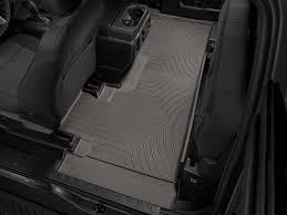 weathertech floor mats floorliner for ford super duty supercab