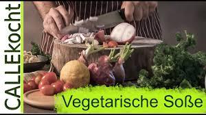 braune soße selber machen ohne fleisch vegetarisches rezept