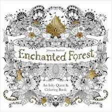 Enchanted Forest Coloring Book By Johanna Basford Secret GardensChristmas