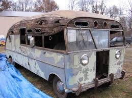 Not Just Another Rusty Ride Classic RV For Restoration Sale 1947 Packard Motorhome Antique